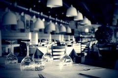 wewnętrzna restauracja obrazy royalty free