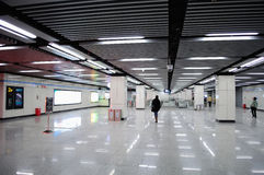 wewnętrzna stacja metru Fotografia Royalty Free