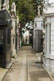 Wewnętrzna ulica Recoleta zdjęcia royalty free