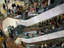 wewnętrzne centrum handlowe obrazy royalty free