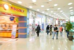 wewnętrzne centrum handlowe obrazy stock