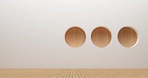Wewnętrznego projekta ściany 3d renderingu wizerunki Zdjęcia Stock