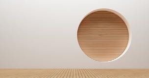 Wewnętrznego projekta ściany 3d renderingu wizerunki Zdjęcie Royalty Free