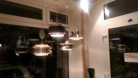 Wewnętrznego projekta lampa obraz stock