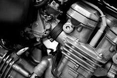 Wewnętrznego spalania silnika butli powietrze chłodzący Zdjęcia Stock