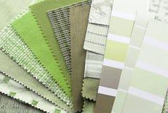 Wewnętrznej dekoraci i odświeżania planowanie Obrazy Stock