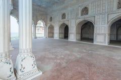 Wewnętrzni i zewnętrzni elementy Agra fort Fotografia Stock