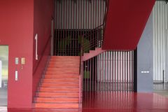 wewnętrzni schody, wewnętrzny schody hotel, Zdjęcie Royalty Free