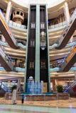 Wewnętrzny Środkowy Souq Mega centrum handlowe w Sharjah UAE Obraz Royalty Free