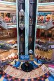 Wewnętrzny Środkowy Souq Mega centrum handlowe w Sharjah UAE Zdjęcia Royalty Free
