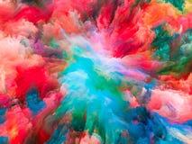 Wewnętrzny życie Surrealistyczna farba Fotografia Stock
