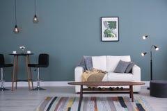 wewnętrzny żywy izbowy elegancki obrazy stock