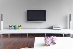 wewnętrzny żywy nowożytny pokój Fotografia Stock