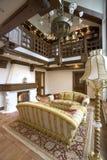 wewnętrzny żywy pokój Obrazy Royalty Free