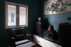 wewnętrzny żywy pokój Obraz Stock