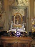 Wewnętrzny bazyliki San Juan De letrà ¡ n Roma Włochy Europa fotografia royalty free