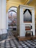 Wewnętrzny bazyliki San Juan De letrà ¡ n Roma Włochy Europa zdjęcie royalty free
