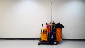 Wewnętrzny Cleaning Narzędziowego zestawu postu chodzenie z wszystkie terenami, czyści Obraz Royalty Free