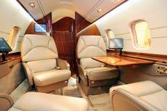 wewnętrzny dżetowy samolot fotografia stock