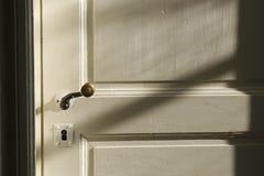 Wewnętrzny drzwi w ranku świetle Zdjęcia Stock