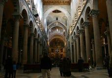 wewnętrzny katedralny Piza fotografia stock