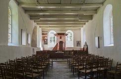 Wewnętrzny Kościelny Oostrum Zdjęcia Royalty Free