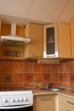 wewnętrzny kuchenny mały Zdjęcie Stock