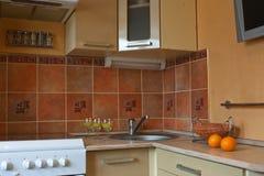 wewnętrzny kuchenny mały Zdjęcia Royalty Free