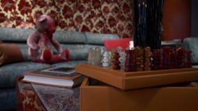 wewnętrzny luksusowy nowożytny zdjęcie wideo