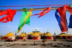 wewnętrzny Mongolia miejsca cześć Obraz Royalty Free