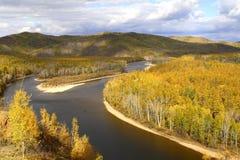 Wewnętrzny Mongolia obszar trawiasty Obrazy Stock
