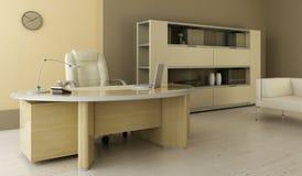 wewnętrzny nowożytny biuro ilustracja wektor