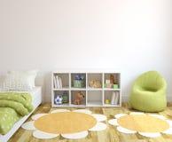 wewnętrzny playroom ilustracja wektor