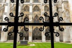 Wewnętrzny podwórze opactwo abbey obraz stock