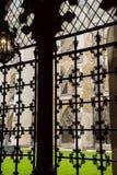 Wewnętrzny podwórze opactwo abbey zdjęcia royalty free