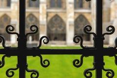 Wewnętrzny podwórze opactwo abbey zdjęcia stock