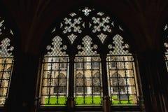 Wewnętrzny podwórze opactwo abbey zdjęcie royalty free