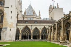 Wewnętrzny podwórze opactwo abbey fotografia stock