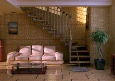 wewnętrzny pokój ilustracji