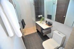 Wewnętrzny projekt łazienka obraz royalty free