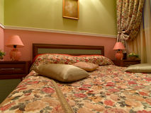 wewnętrzny romantyczny pokój zdjęcie royalty free