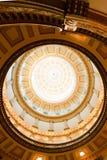 Wewnętrzny sufitu projekt kościół obraz royalty free
