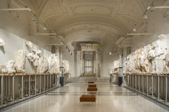 Wewnętrzny szczegół od Ephesos muzeum, Wiedeń, Austria Fotografia Stock