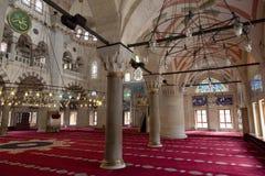 Wewnętrzny szczegół od Kilic Ali Pas meczetu, Tophane, Beyoglu Istanbuł, Turcja obraz royalty free