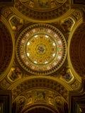 Wewnętrzny szczegół St Stephen& x27; s Basiilca Zdjęcia Royalty Free