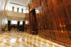 Wewnętrzny widok aria hotel w Las Vegas, NV na Sierpień 06, 2 Zdjęcie Royalty Free