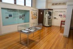 Wewnętrzny widok Chappell wzgórza Dziejowego społeczeństwa muzeum mieścący w szkoły wyższej Dzwonkowej historycznej szkole w Chap obraz stock