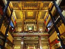 Wewnętrzny widok Fu-An świątynia Obraz Royalty Free