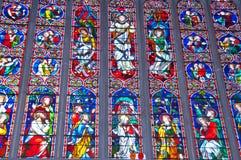 Witrażu okno Fotografia Stock