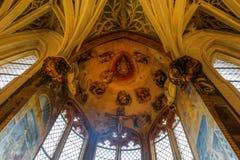 Wewnętrzny widok Musee obywatel Du Moyen Starzejący się w Paryż, Francja zdjęcia royalty free